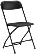 Samsonite Chair, Black