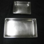 Food Pans, Silver