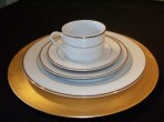 Ivory China with Gold Trim