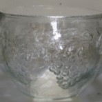 Glass Punch Bowl, Grapevine