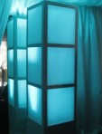 Light Up Column, Blue