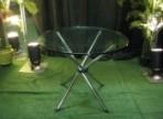 Modern Table, Glass Top