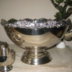 Punch Bowl, Silver