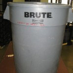 Trash Can, Plastic