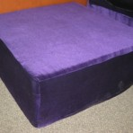 4 X 4 Lounge Bed with Royal Purple Cover