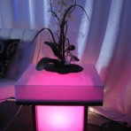 Light Up End Table