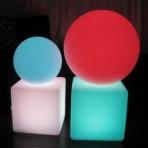 Light Up Cubes & Deco Balls