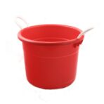 Beverage Tub, Red Plastic