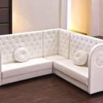 Leather Tufted Booth