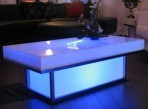 Light Up Coffee Table, Blue