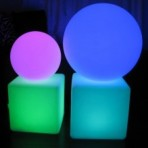 Light Up Cubes & Deco Balls