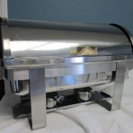 Chafing Dish, Silver Rectangle