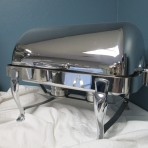 Hotel Quality Chafing Dish, Silver Rectangle