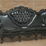 Baroque Sofa, Black