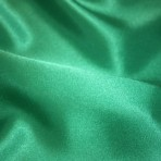 Emerald Green Satin