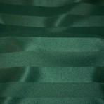Hunter Green Satin Stripe