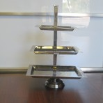 Square Display Tray, 3 Tier