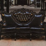 Baroque Sofa, Black