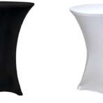 Spandex Covered Cocktail Table