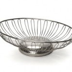 Metal Bread Basket