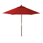Red Market Umbrella