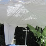 Custom Tent Swagging