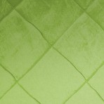 Nova Pintuck Apple Green